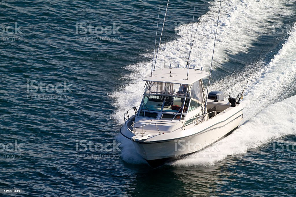 Sport Fishing Boat royalty-free stock photo