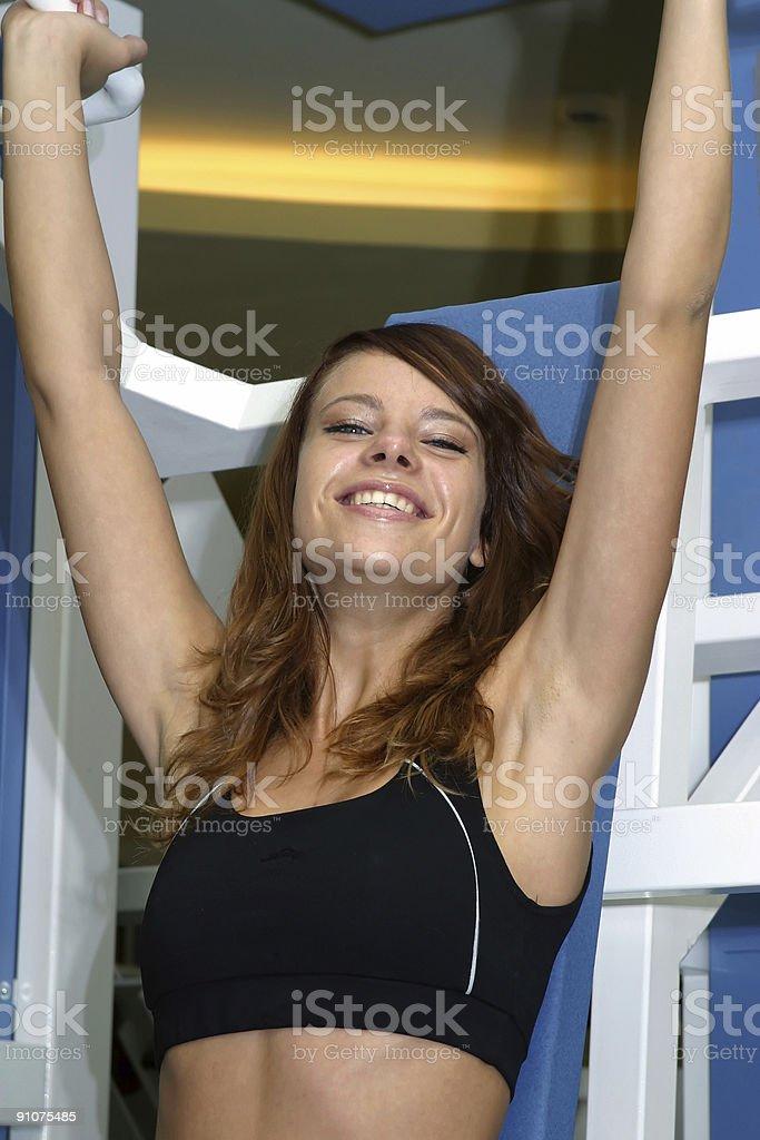 sport, girl royalty-free stock photo