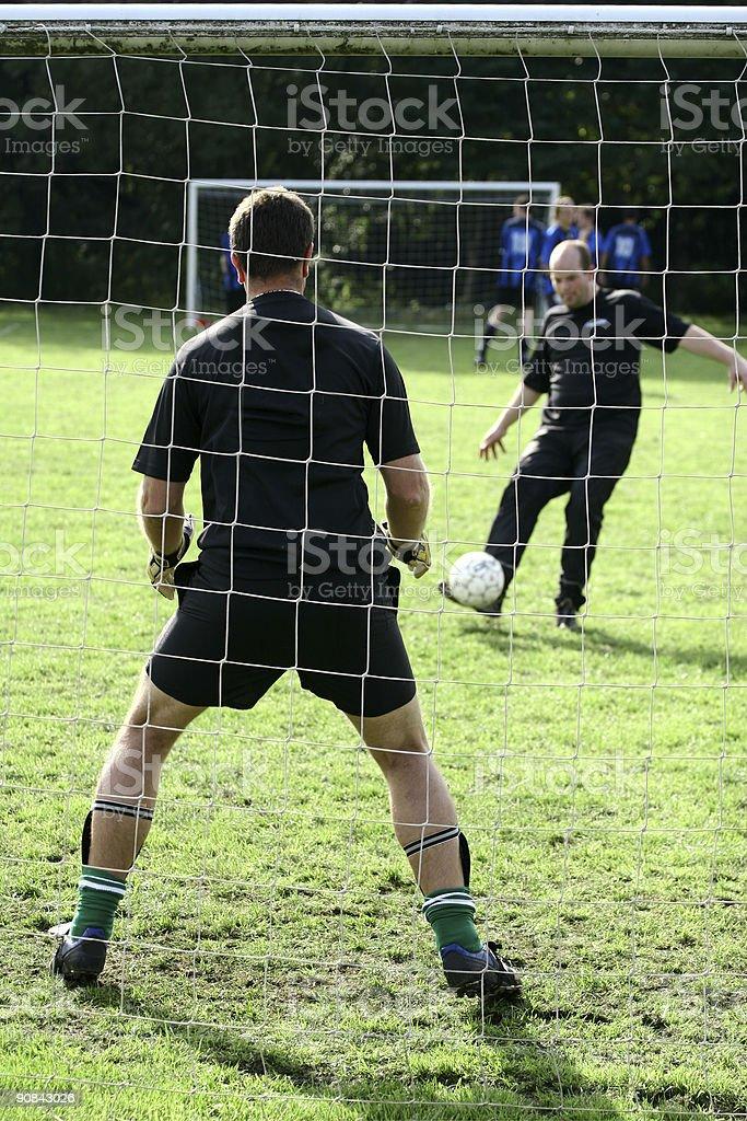 sport, goal keeper stock photo