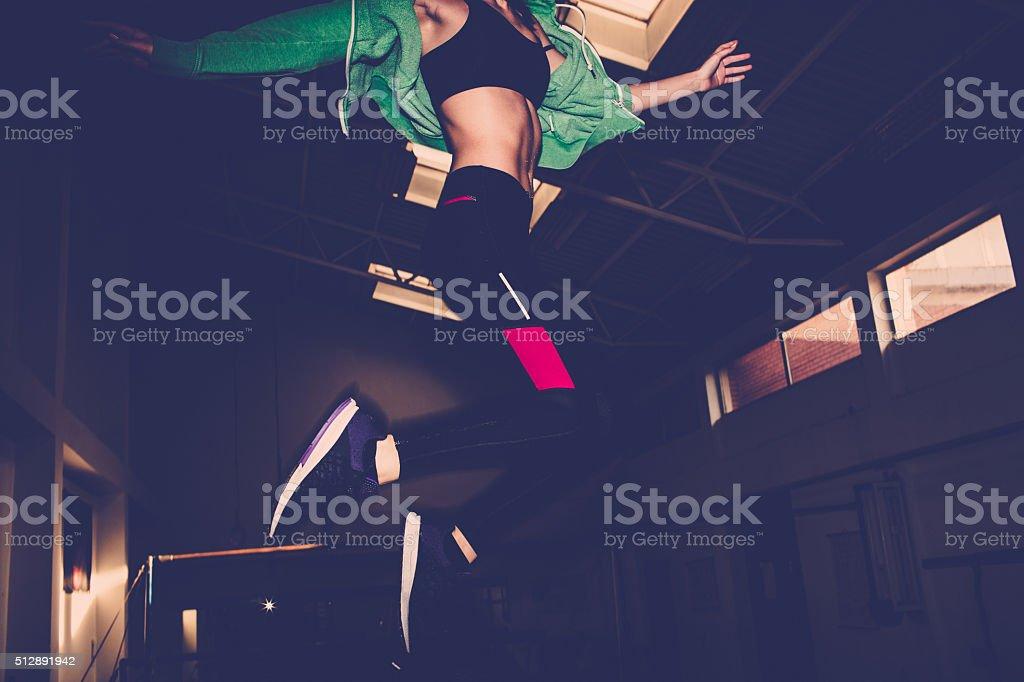 Sport lover stock photo