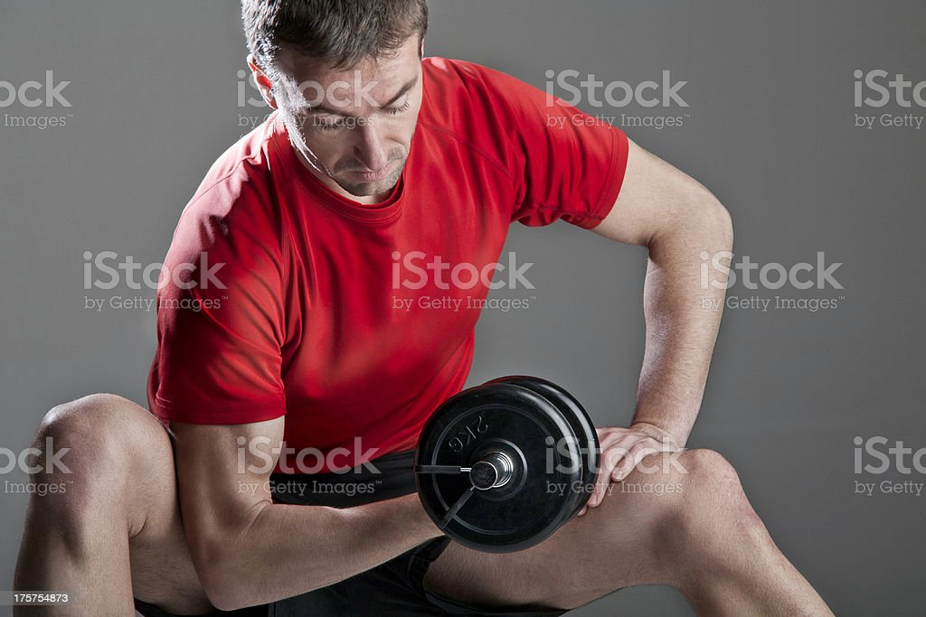 Sport man royalty-free stock photo