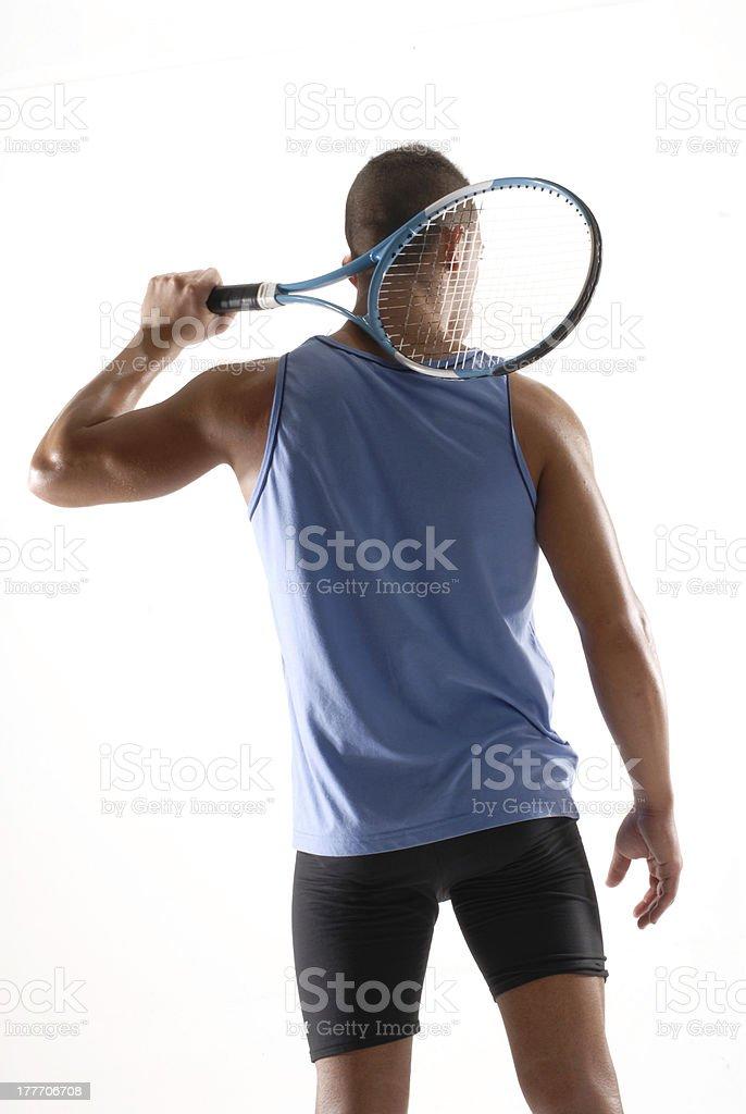 Sport man. royalty-free stock photo