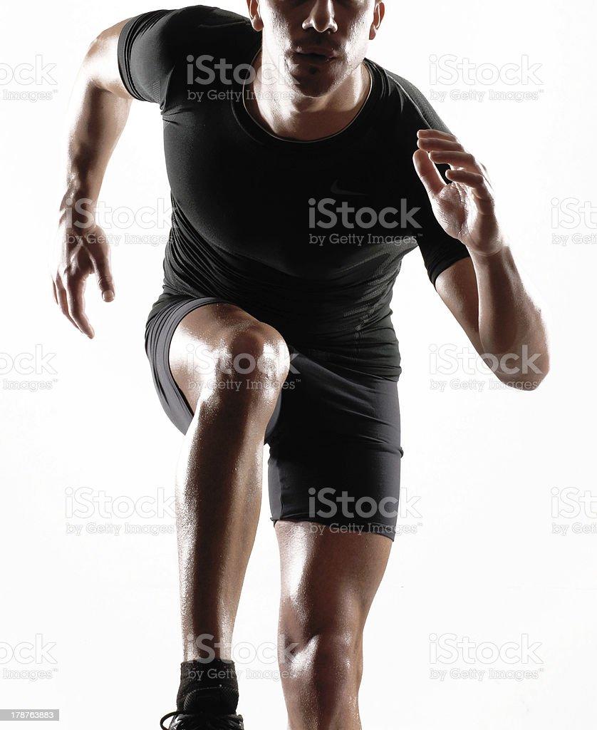 Sport man. stock photo