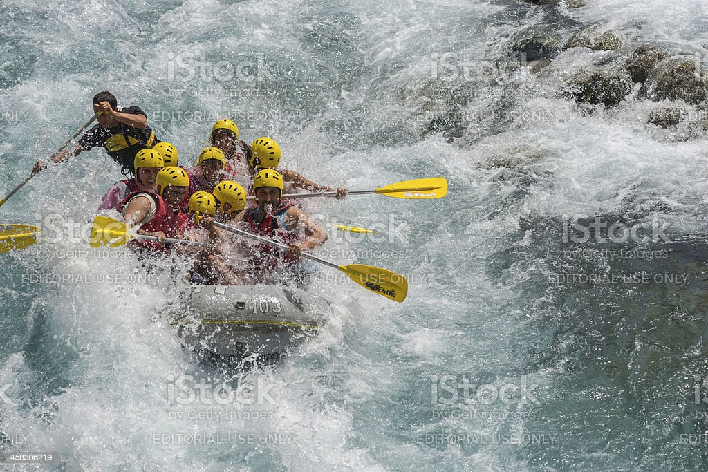 Sport On Water royalty-free stock photo