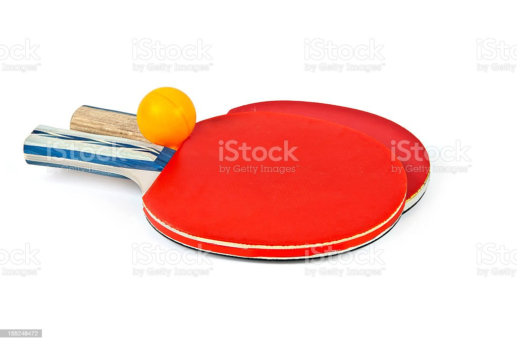 Sport: Ping Pong rackets royalty-free stock photo