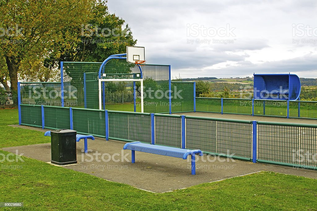 Sport place stock photo