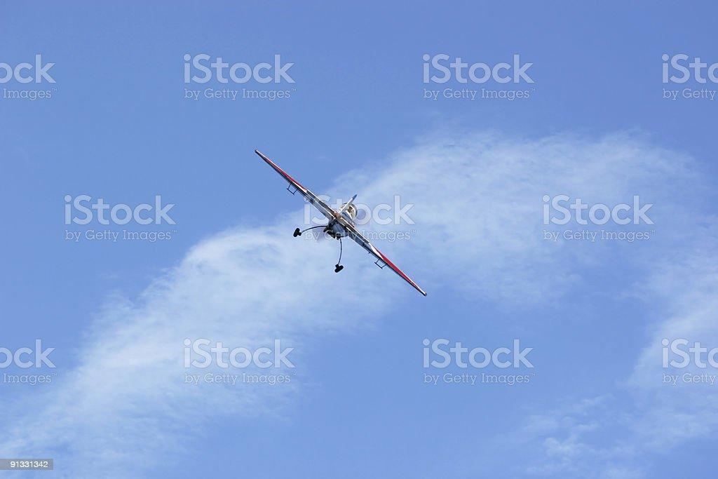 sport plane royalty-free stock photo