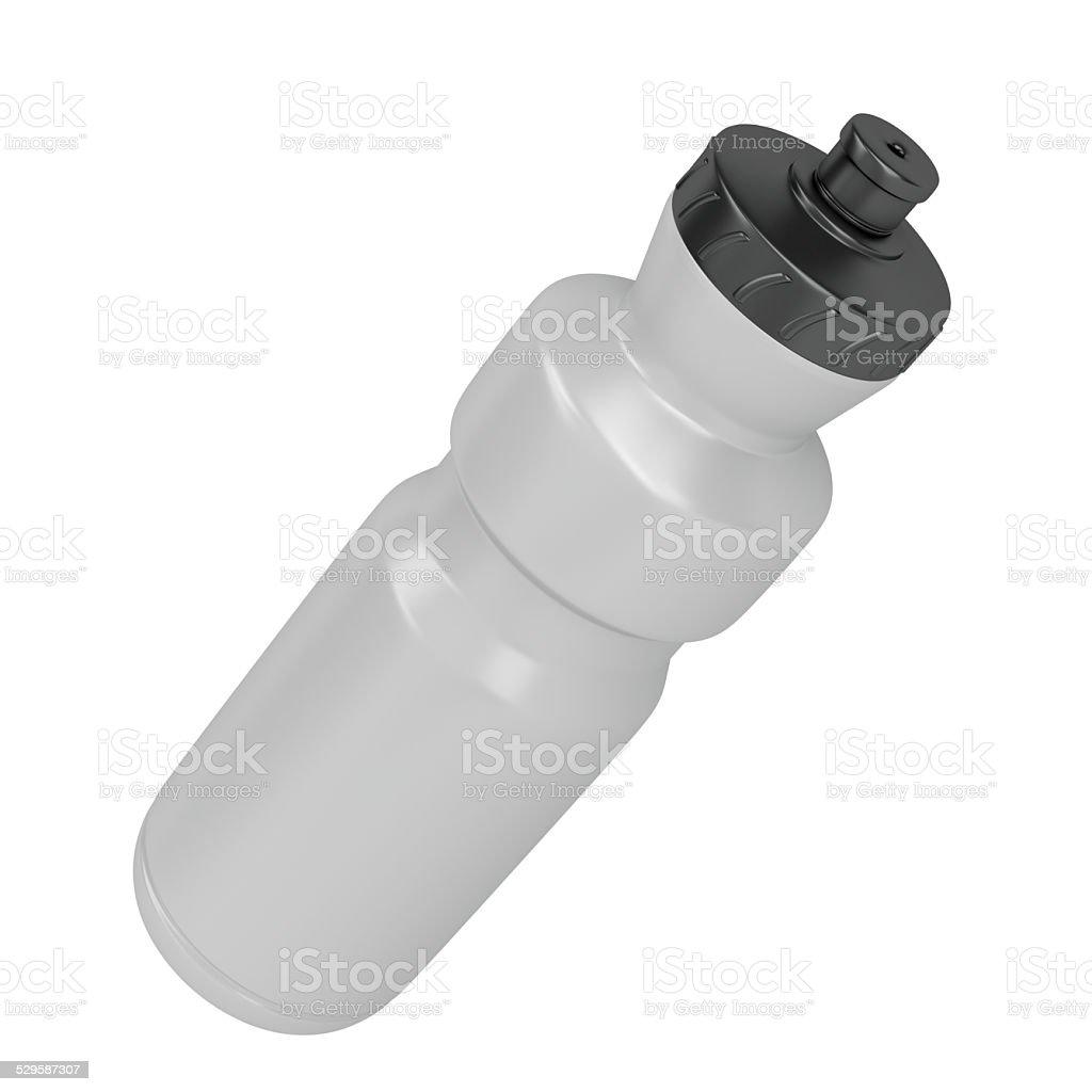 Sport plastic bottle stock photo