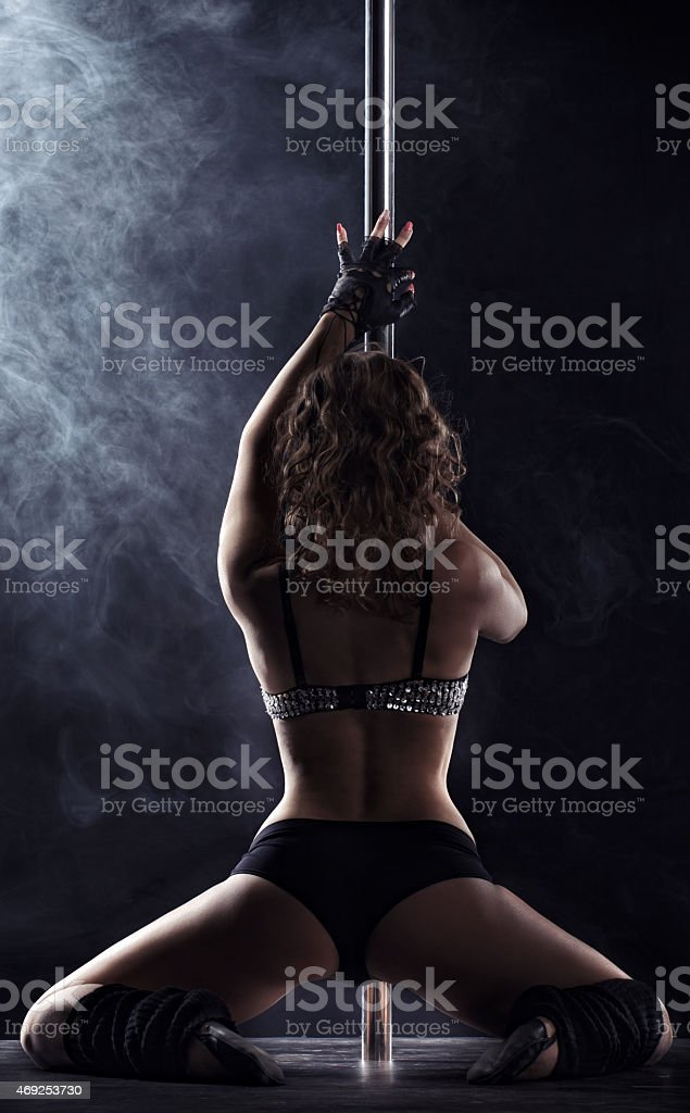 Sport. Pole Dance stock photo