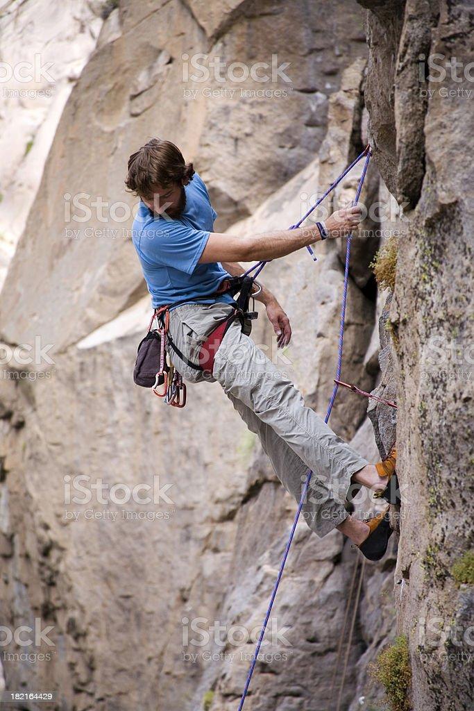 Sport Rock Climber 15 royalty-free stock photo