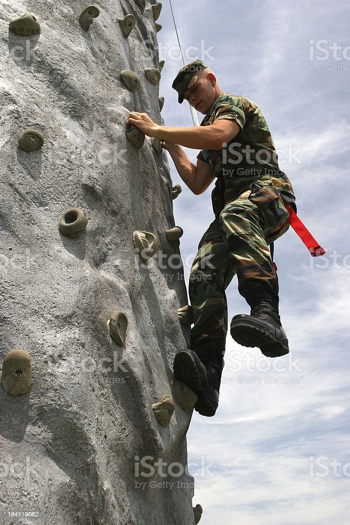Sport Rock Vertical royalty-free stock photo