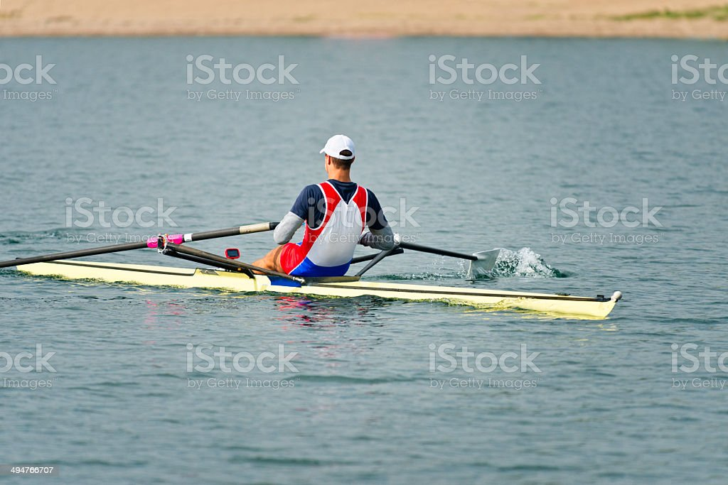 Sport rowing stock photo