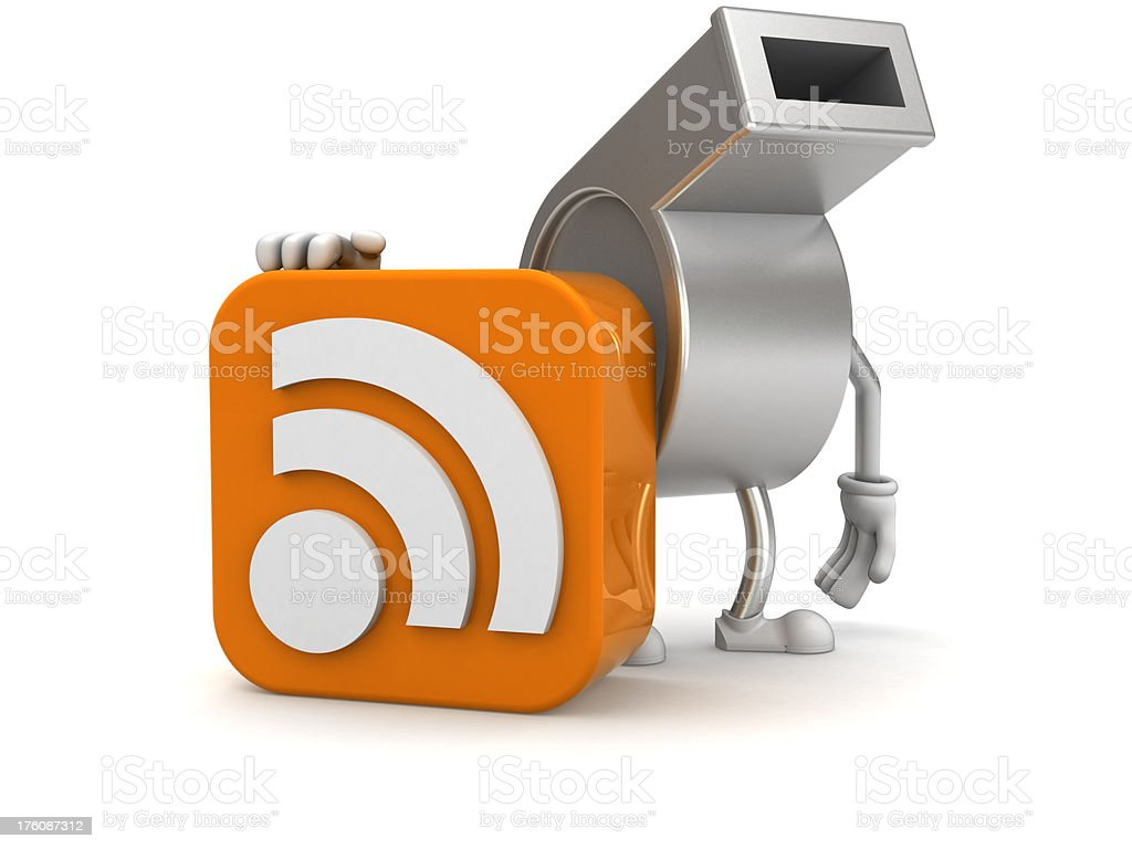 Sport RSS royalty-free stock photo