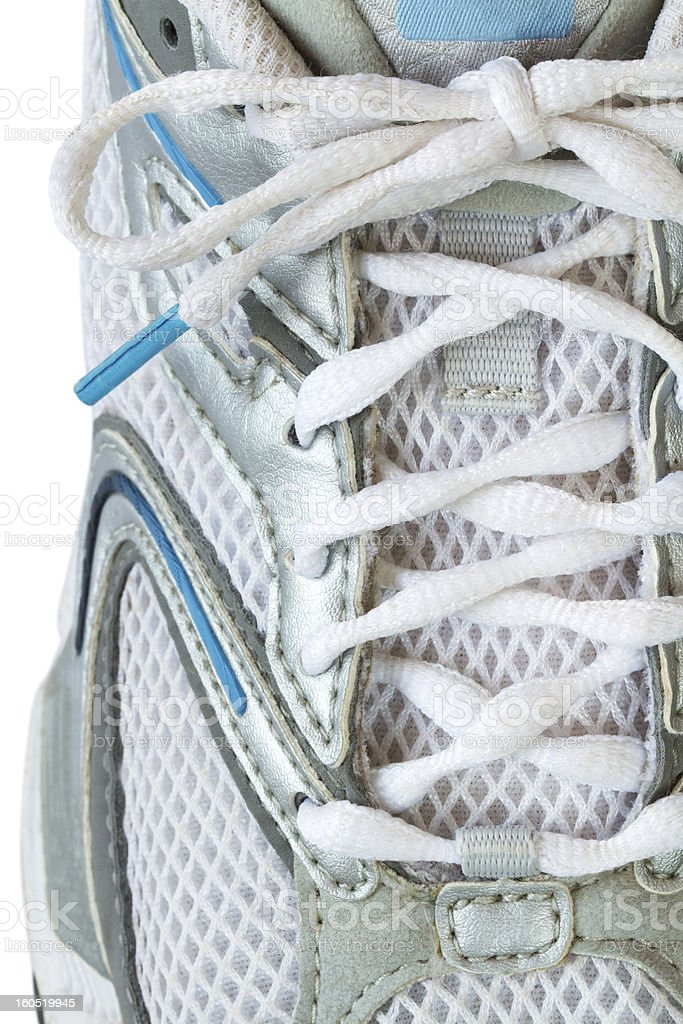 Sport shoe and laces royalty-free stock photo