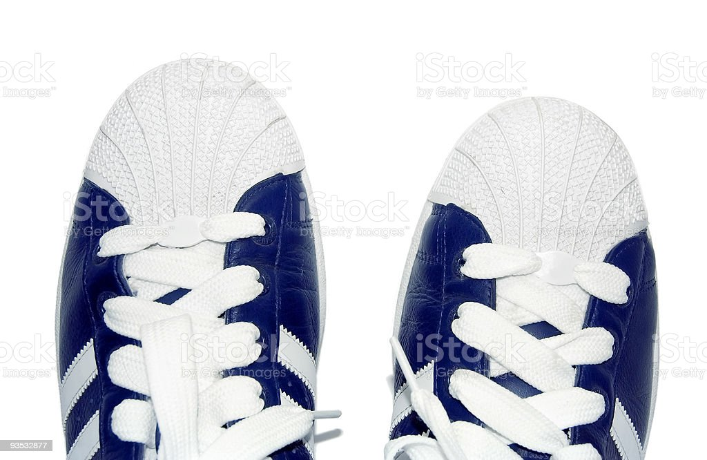 sport shoes isolated, clipping path royalty-free stock photo