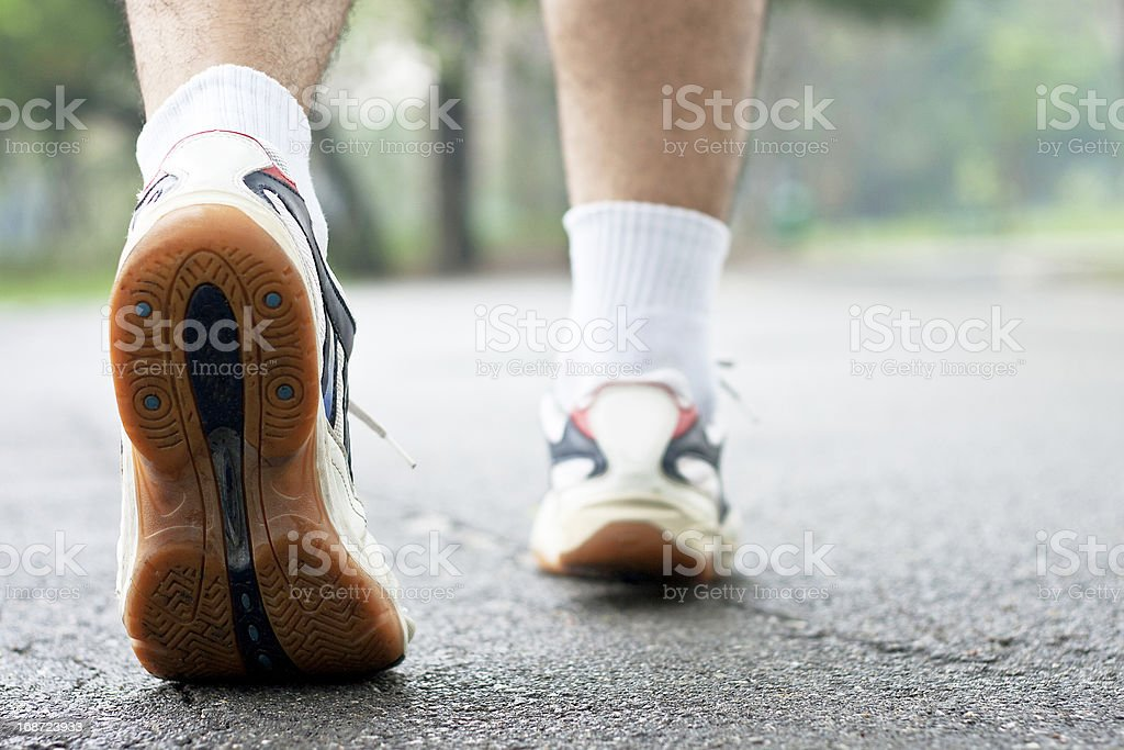 Sport shoes running royalty-free stock photo