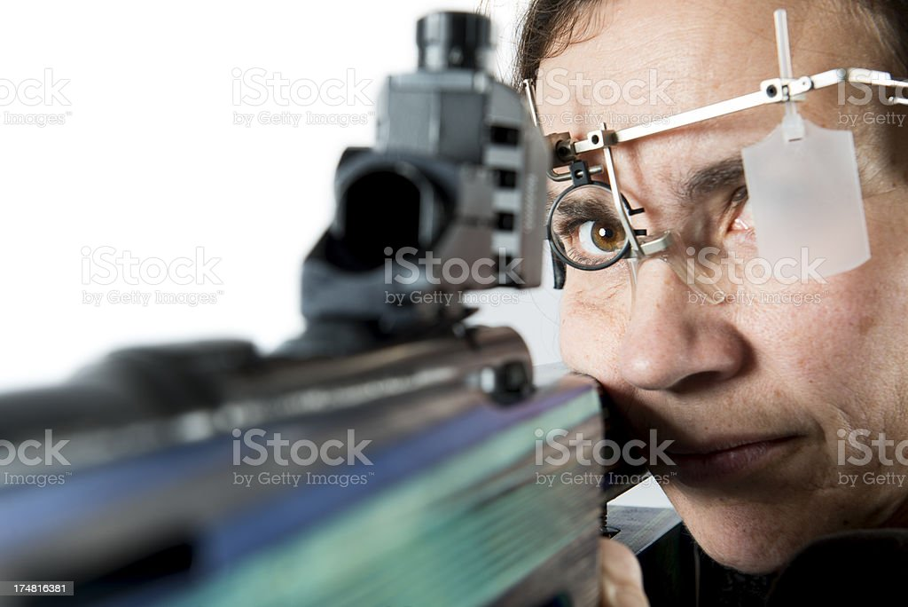 Sport Shooter. royalty-free stock photo