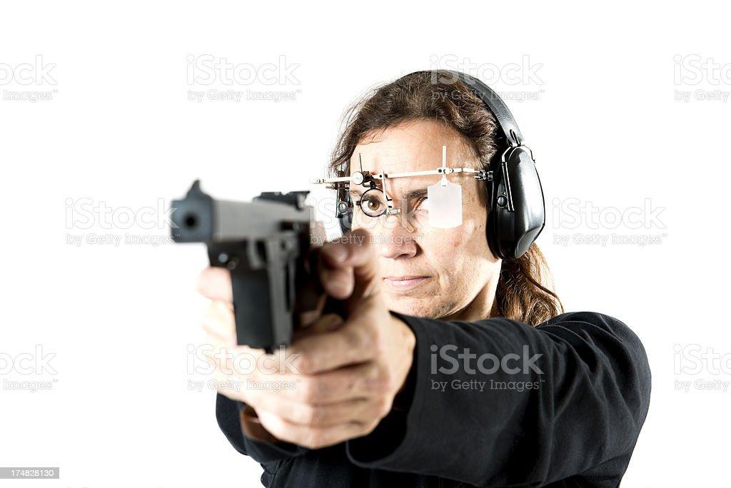 Sport Shooter. royalty-free stock photo