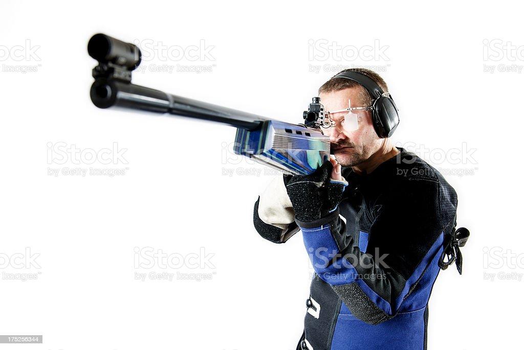 Sport Shooter. stock photo