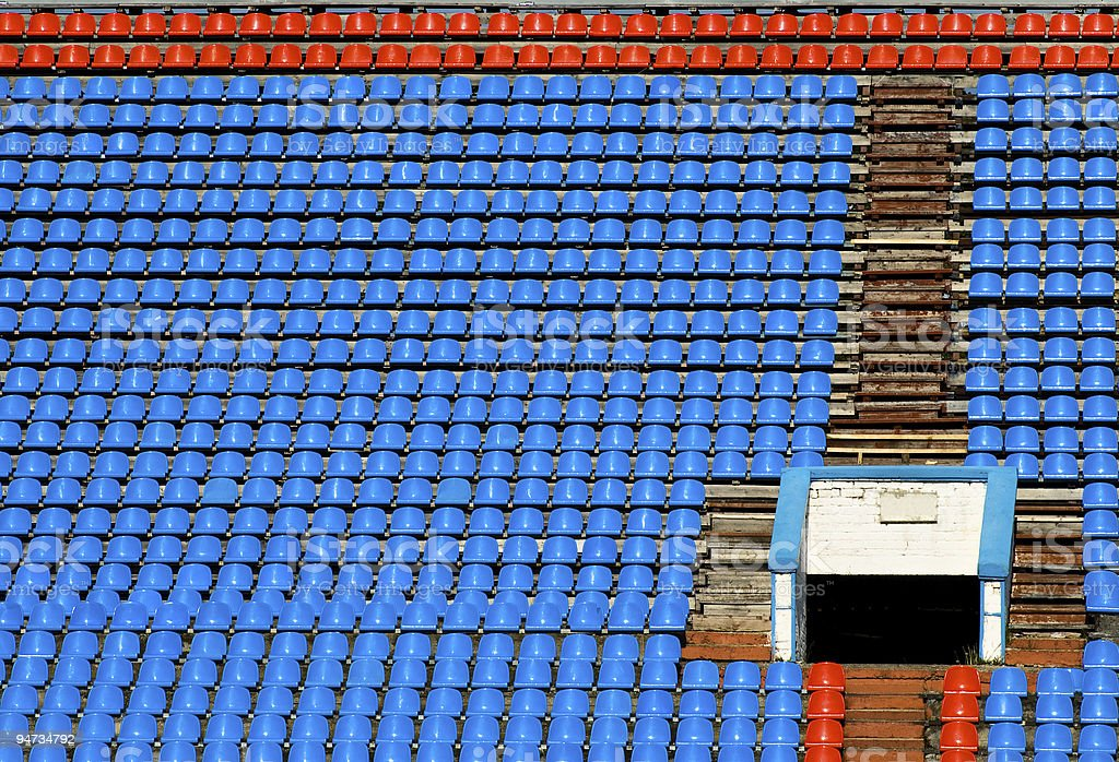sport stadium background royalty-free stock photo