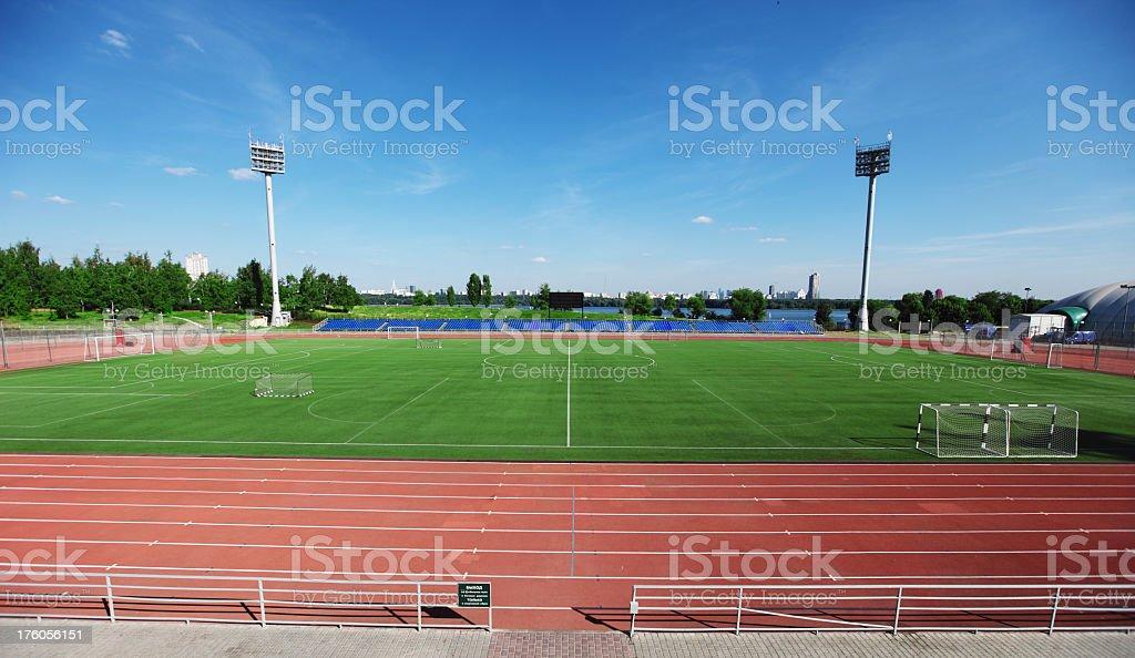 sport stadium stock photo