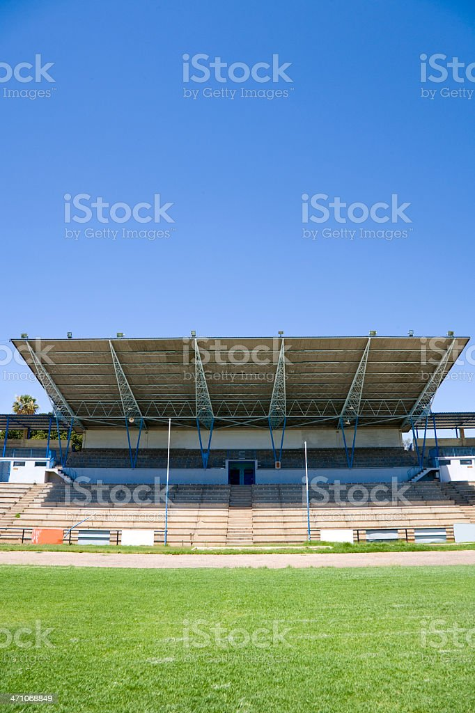 Sport Stadium Tribune royalty-free stock photo