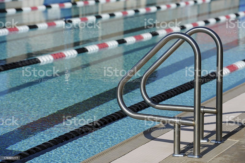sport swimming pool stock photo