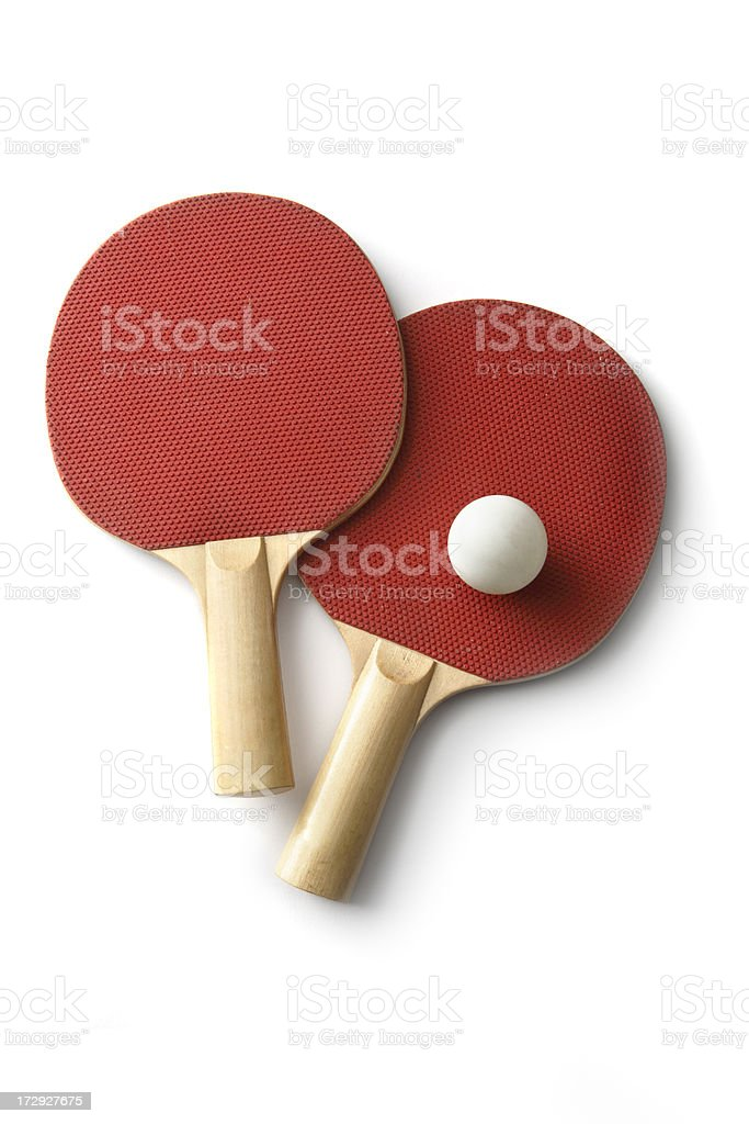 Sport: Table Tennis Bat royalty-free stock photo