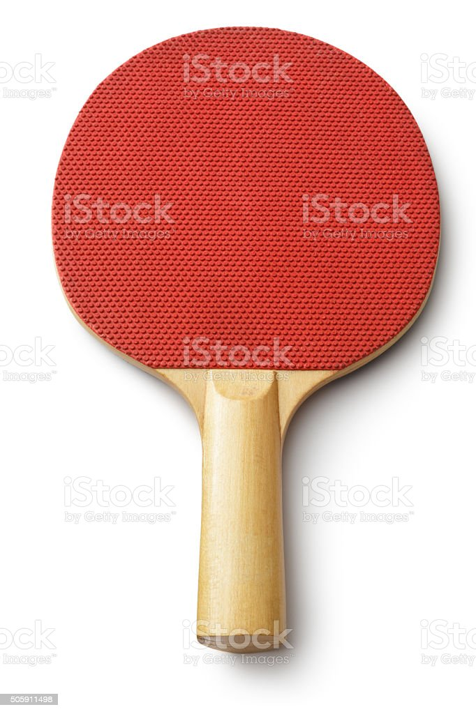 Sport: Table Tennis Bat stock photo