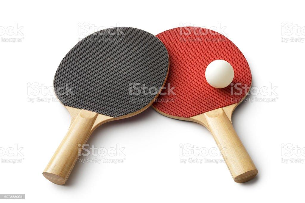 Sport: Table Tennis Bat stock photo
