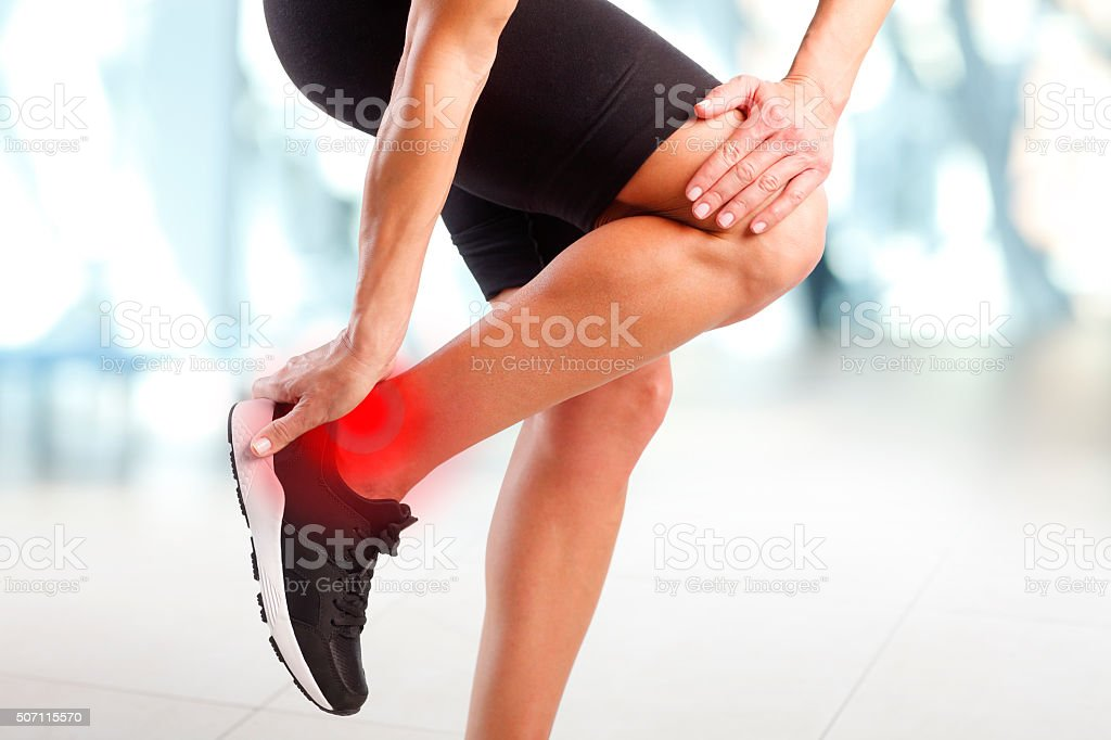 Sport trauma stock photo