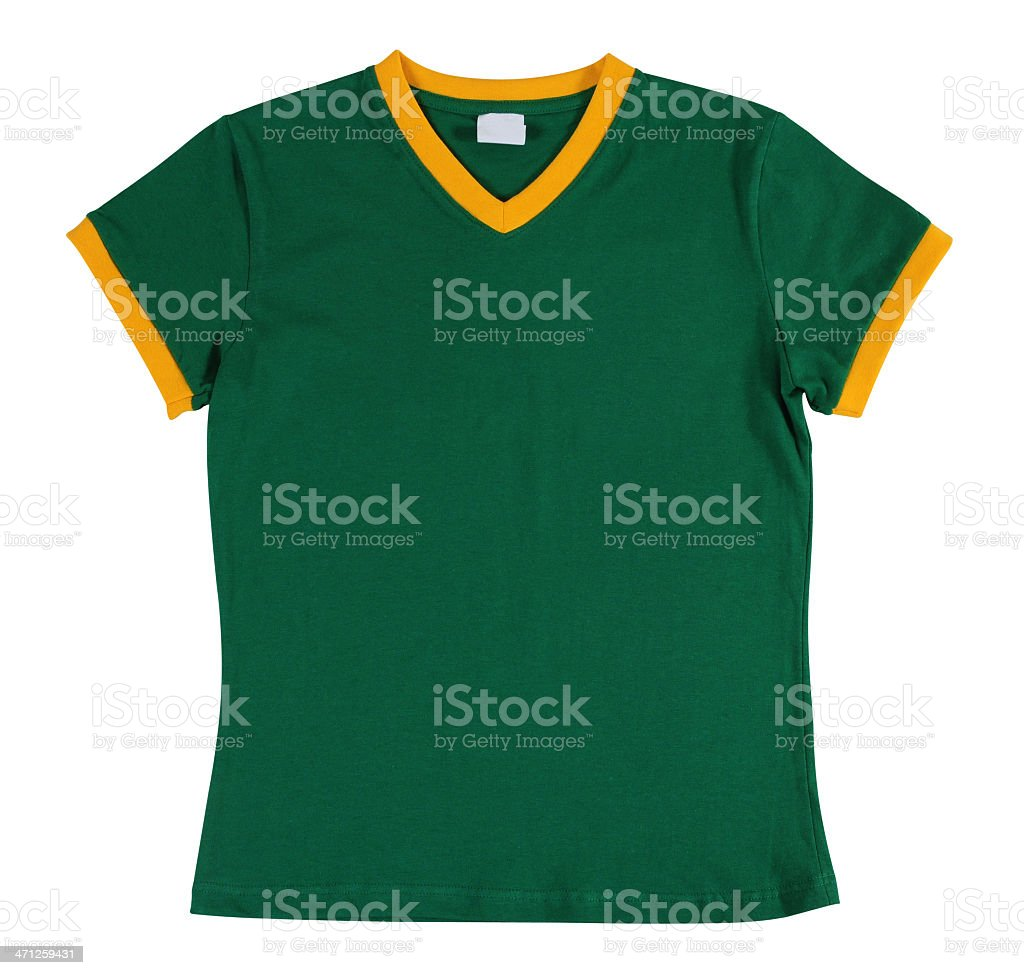 Sport T-Shirt. Isolated. stock photo