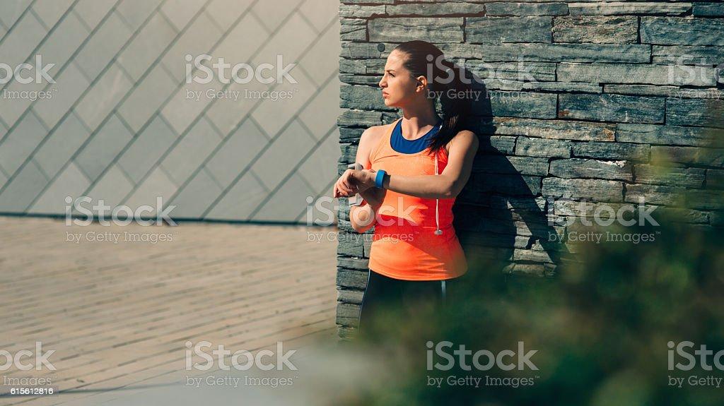 Sport Watch stock photo