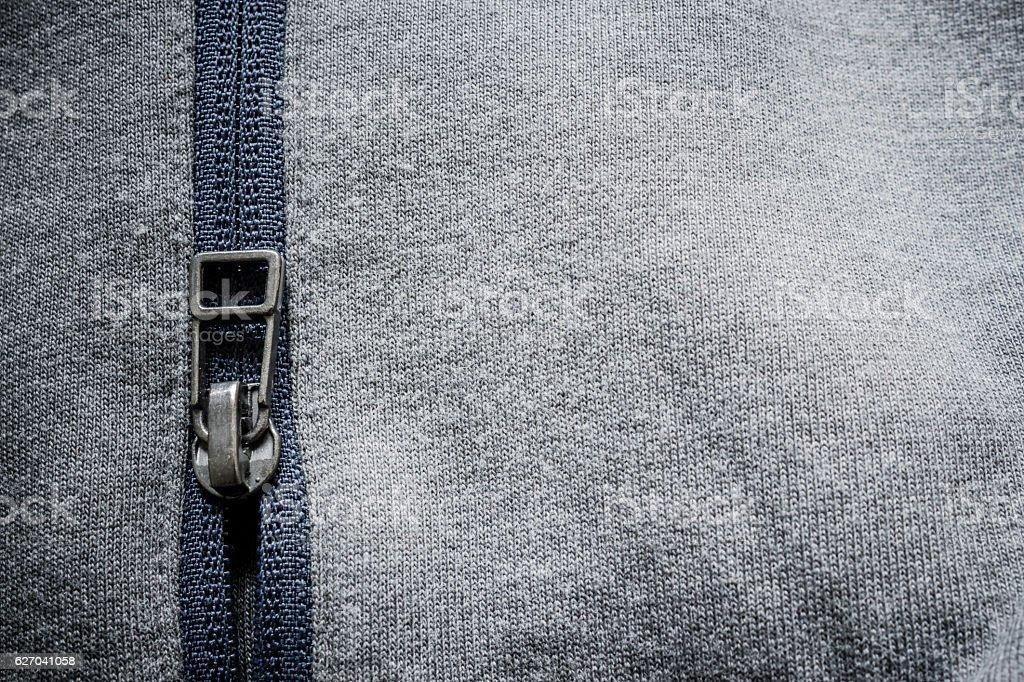 Sport Zipper stock photo