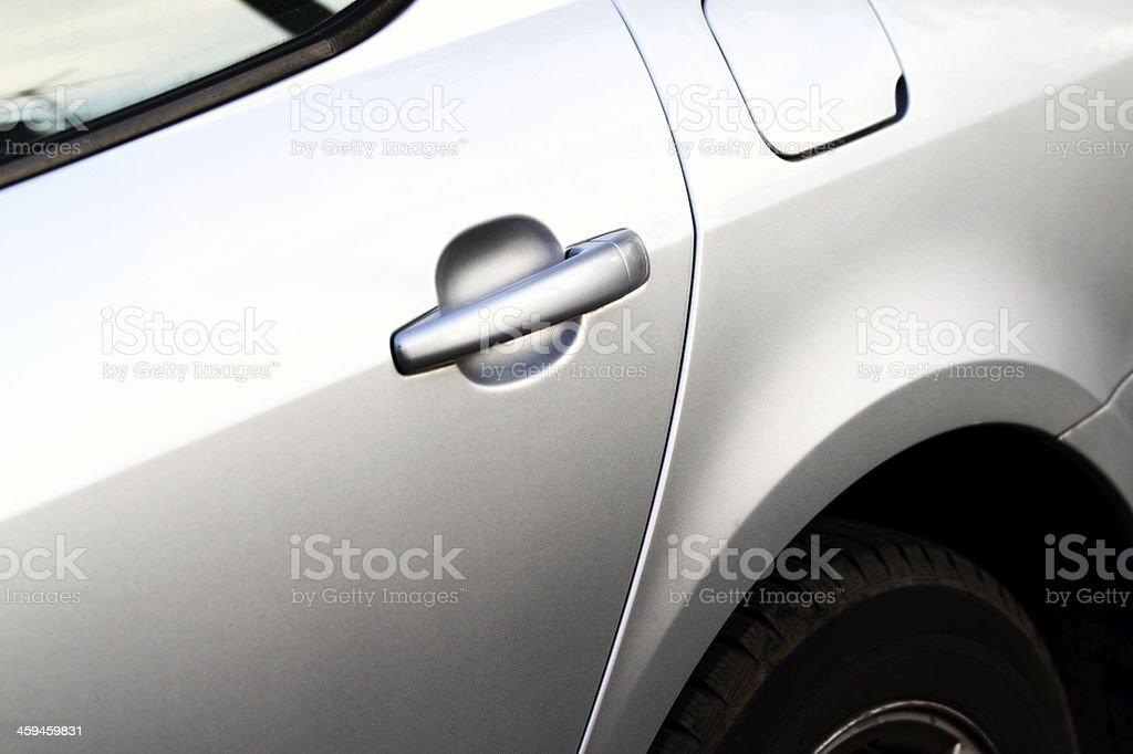 Sportcar detail stock photo