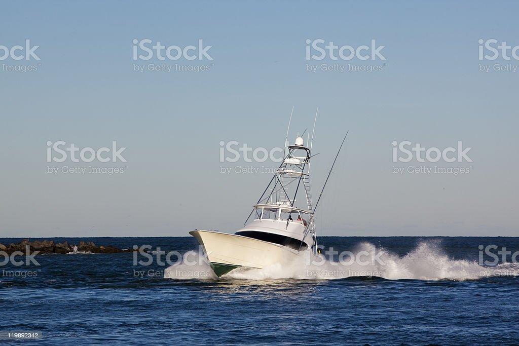 Sportfishing Boat stock photo