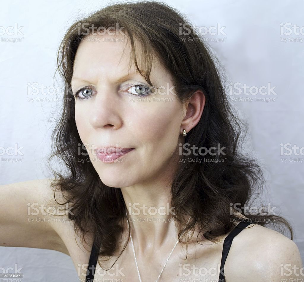 Sporting woman royalty-free stock photo