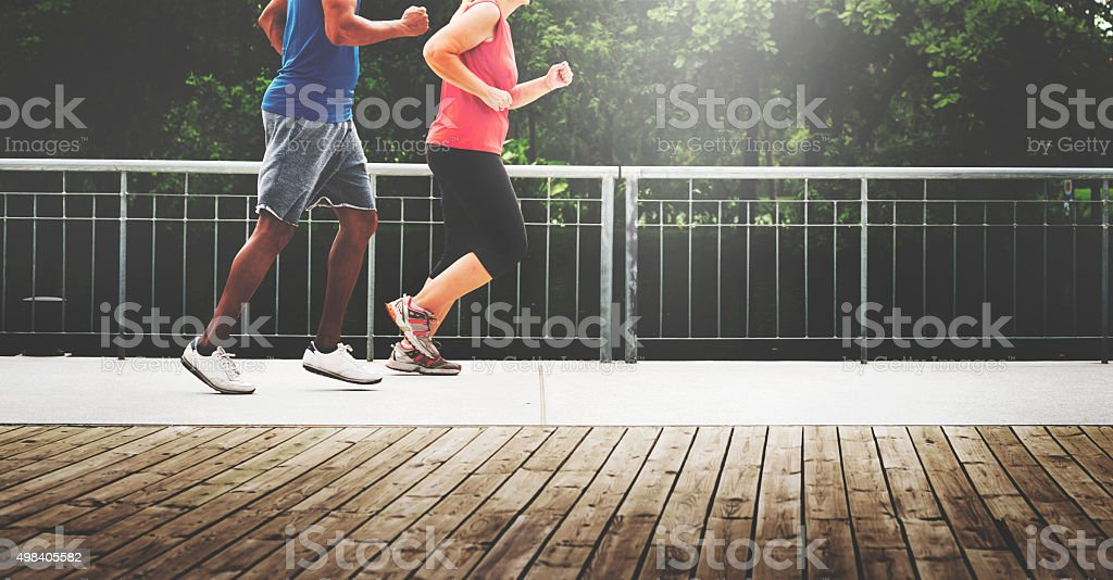 Sportman Sportwoman Podcast Playlist Athlete Concept stock photo
