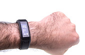 Sports activity watch band