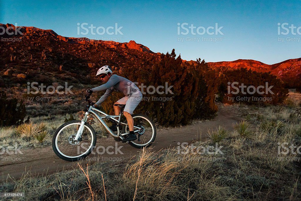 sports and fitness in the great outdoors stock photo
