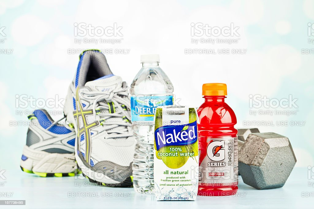 Sports and Hydration stock photo