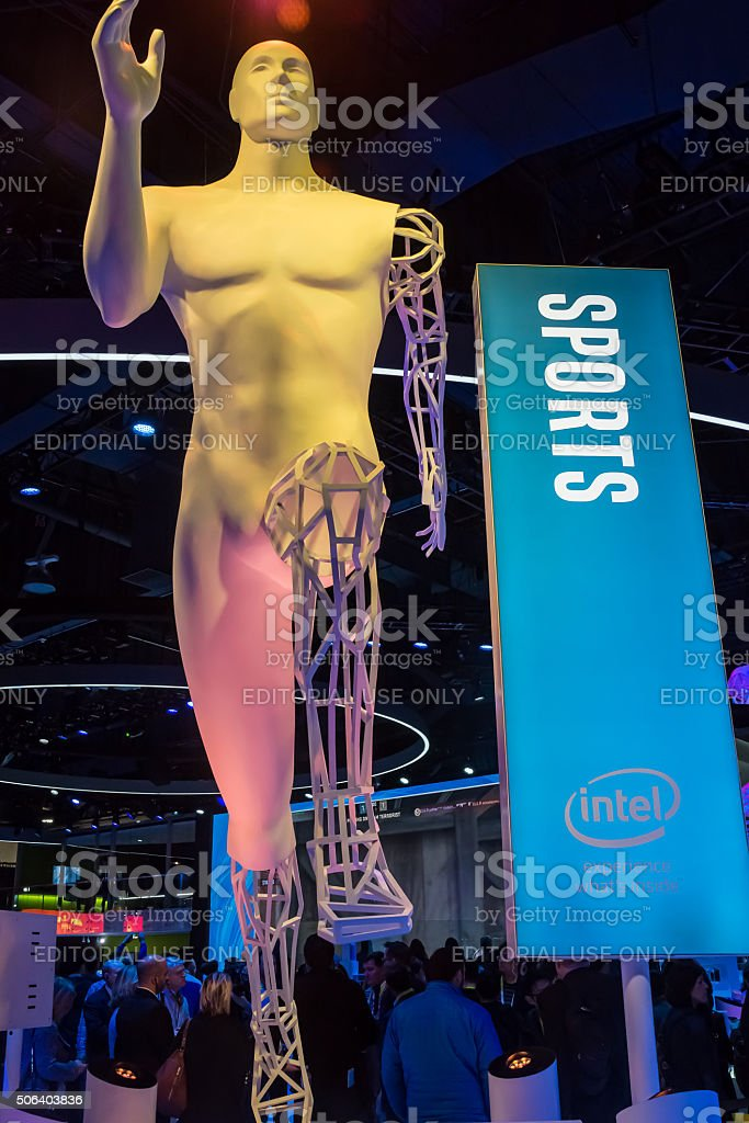 Sports at CES 2016 stock photo