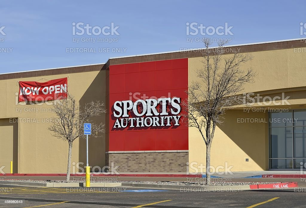 Sports Authority, Santa Fe royalty-free stock photo