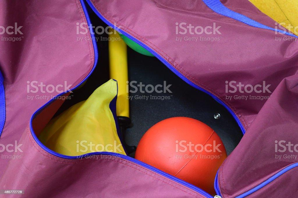 Sports Bag royalty-free stock photo