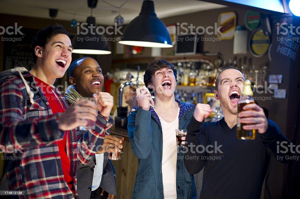 sports bar royalty-free stock photo