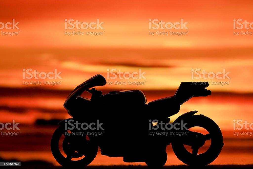 Sports bike royalty-free stock photo