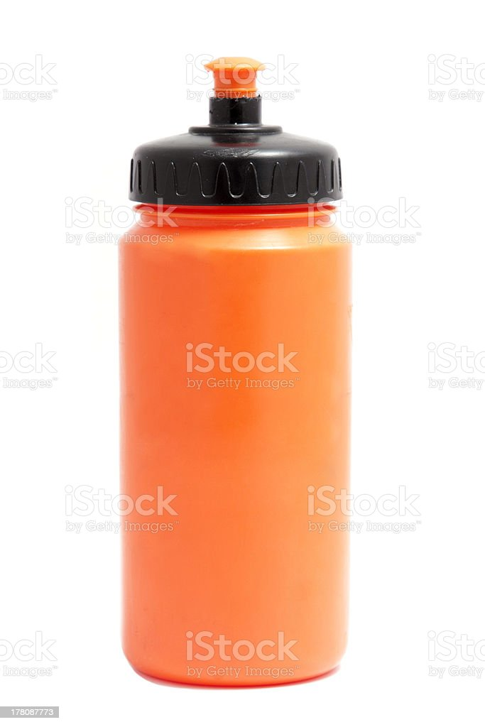 sports bottle stock photo