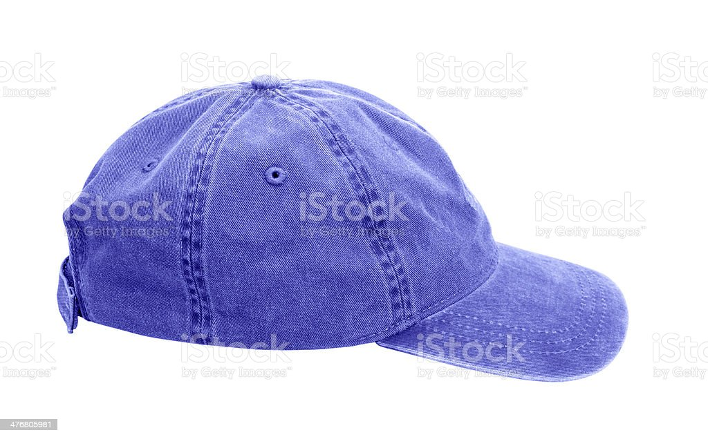 Sports cap on white background stock photo