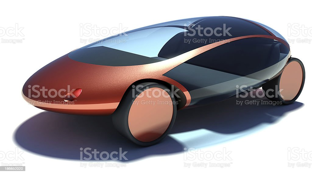 Sports Car Concept royalty-free stock photo