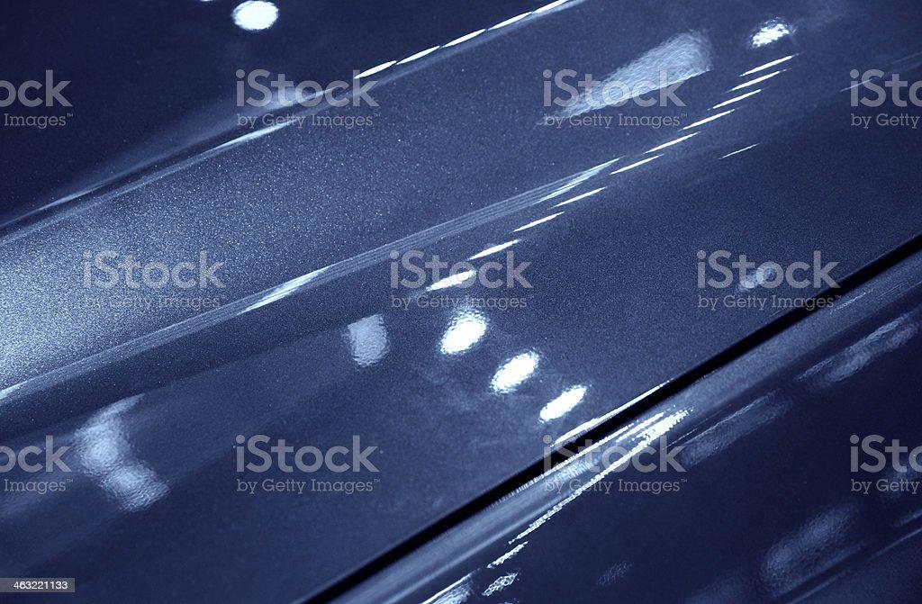Sports Car Detail stock photo